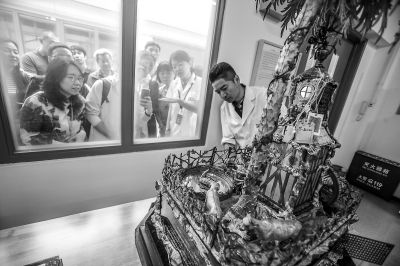 故宮文物醫院迎來首批觀眾-中國網地産
