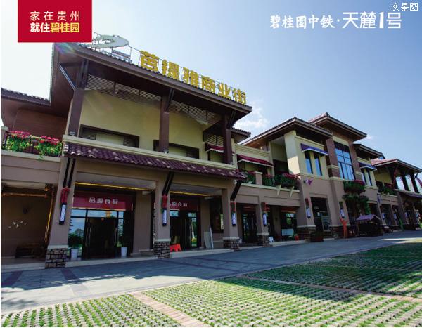 贵阳城东天麓1号收官旺铺总价74万起-中国网地产