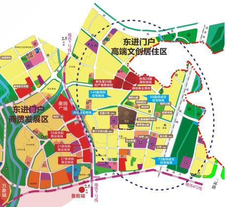 成都 市场  记者实地打探发现,香山长岛附近有几块已打围待出让土地