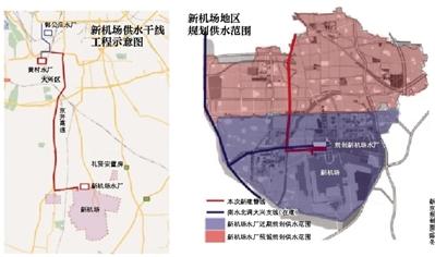 新机场接通保障电源 供水干线已开建-中国网地产