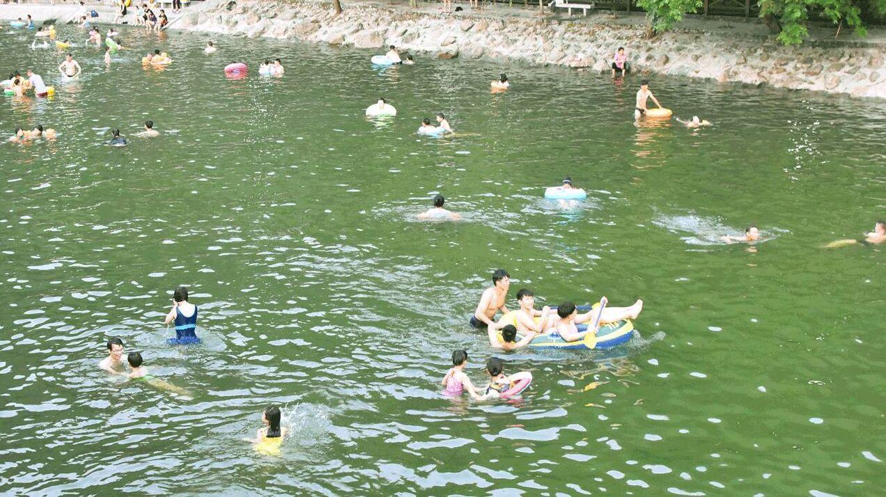 吹著山風游泳 蕭山三個天然泳池免費對外開放-中國網地産