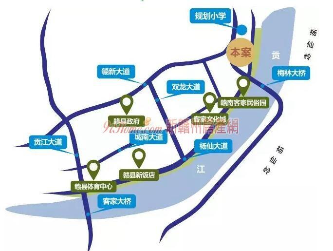 贛縣區聯排別墅改變新區住房高貴新格局-中國網地産