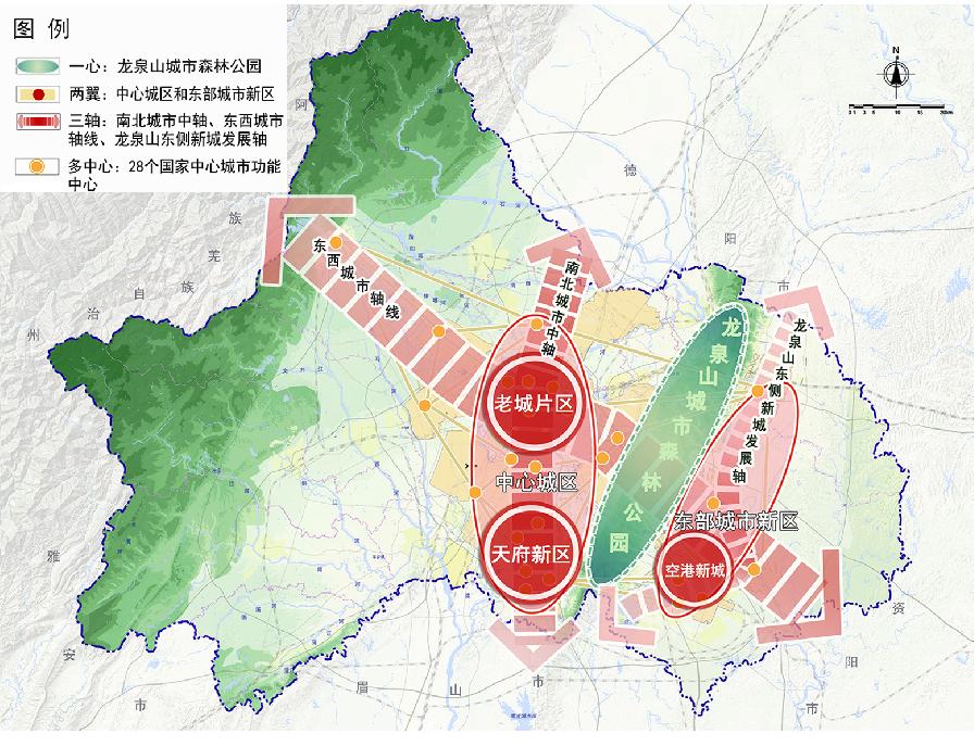 """双城记:""""三轴六点""""透底成都未来""""金砖三区""""-中国网地产"""
