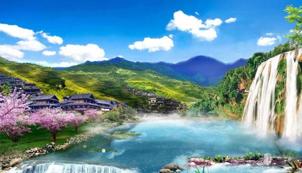 隔绝车水马龙的桃源之地,相拥青山,碧水,蓝天的纯净.