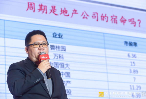张化东:房企能够跨越周期  未来的桥梁是规模-中国网地产
