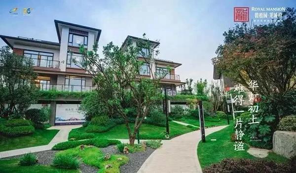 碧桂园龙城府在售建面约193-784㎡阔景新中式双拼别墅图片