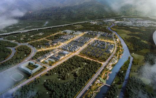 探索公园城市建设 ,绿地都江堰国际旅游康养小镇开工-中国网地产