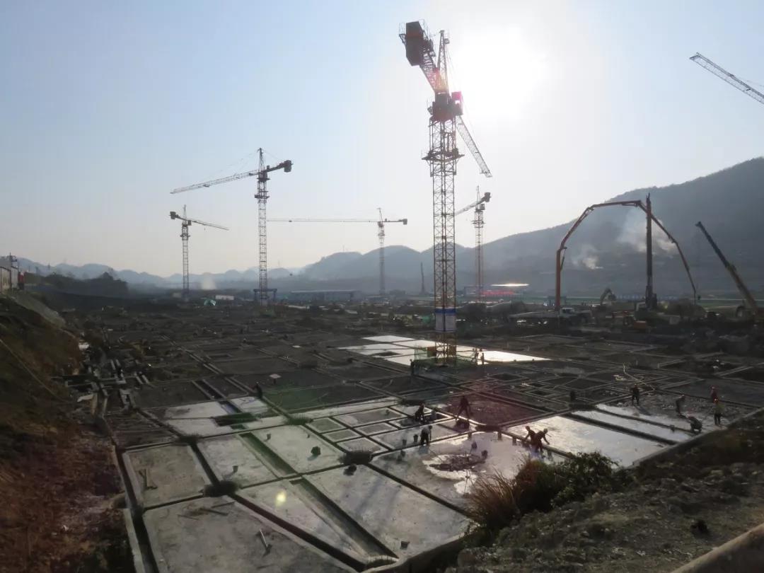 遵义·西南钢材机电城|工程快报:一期河西区桩基检测已完成-中国网地产