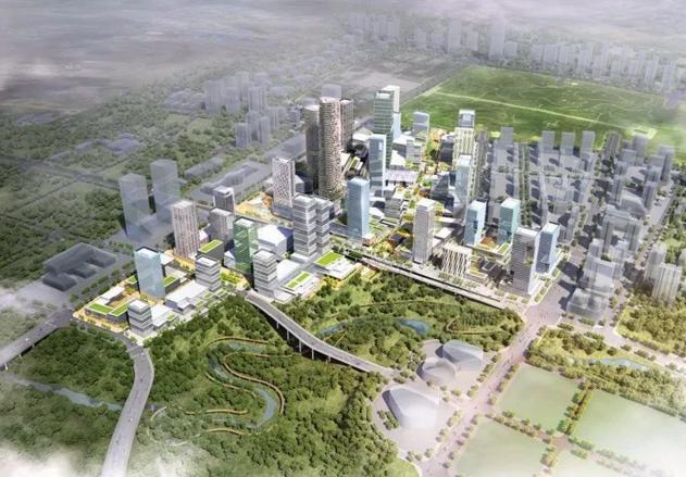 繁华可期 重庆两江国际商务中心旗舰商业设计预审通过-中国网地产