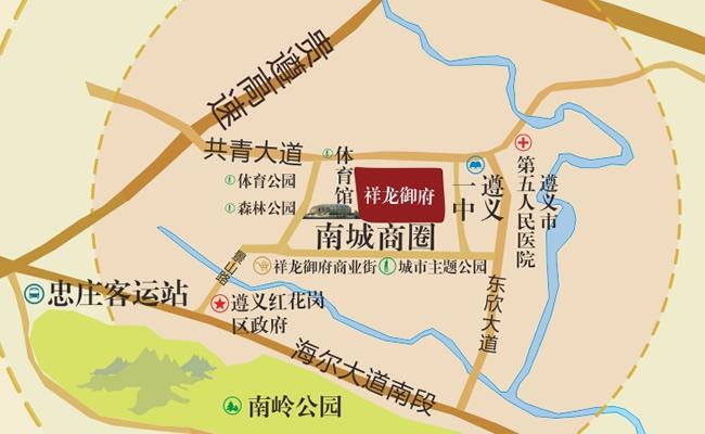 遵义·祥龙御府 | 红花岗体育公园里的幸福家-中国网地产