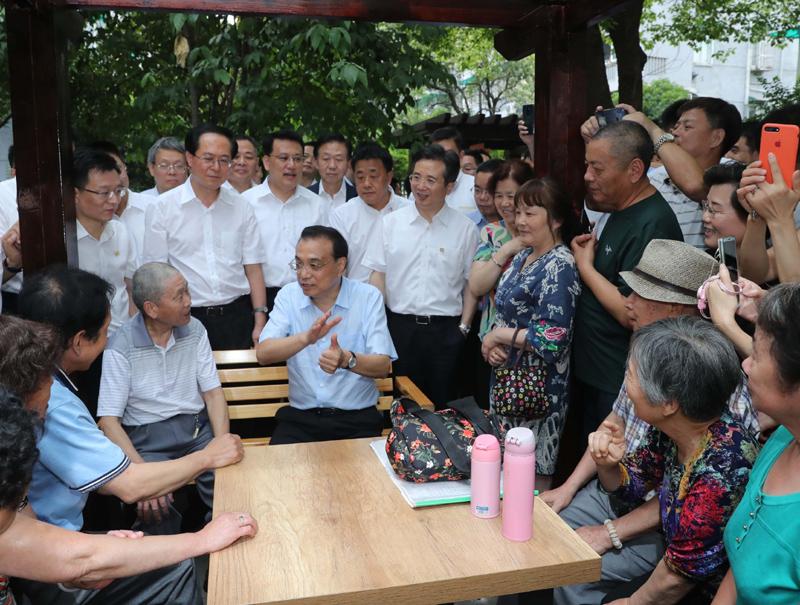 李克强在杭州考察:建设宜居城市首先要建设宜居小区-中国网地产