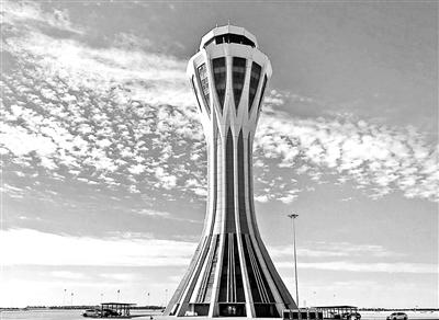 北京大兴机场空管中心昨日竣工-中国网地产