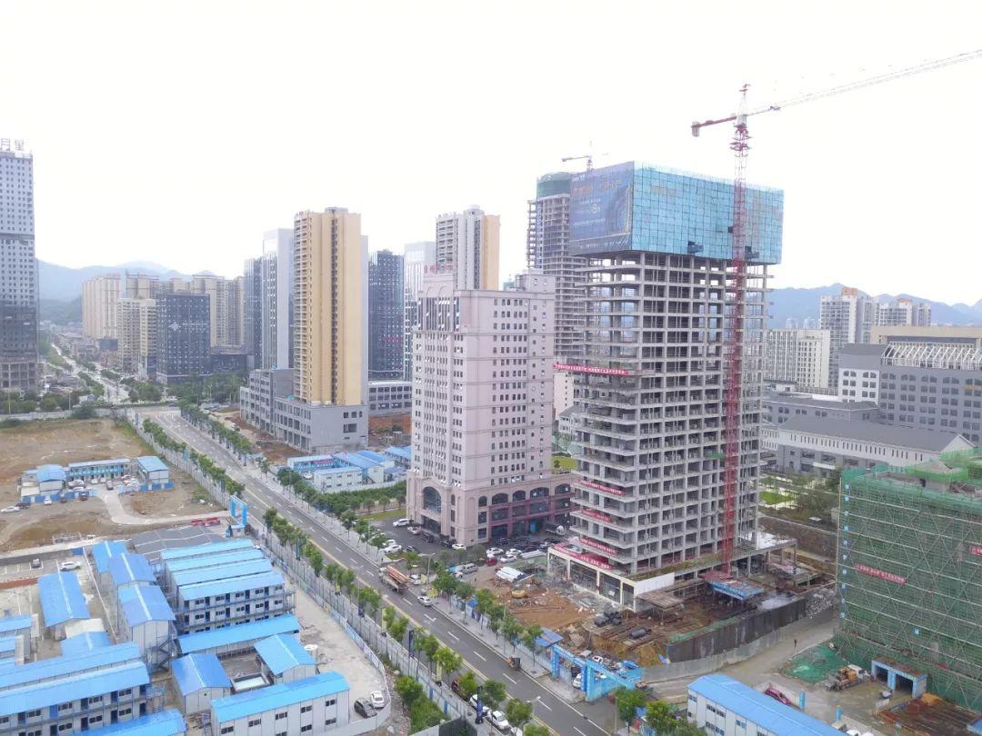 三千旅居CBD天际 华南工程进度  骄阳7月  相遇美好-中国网地产