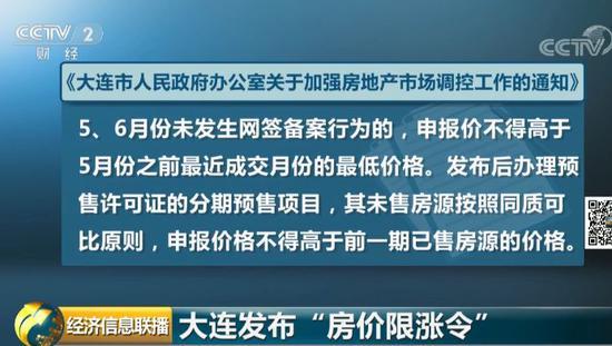 大连发布房价限涨令:只准跌 不准涨-中国网地产