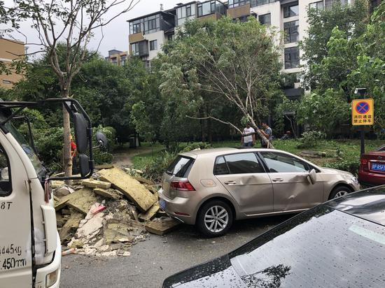 北京首开畅颐园小区外墙大面积脱落 去年6月才交房-中国网地产