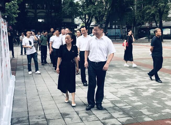 陸克華調研重慶老舊小區改造及社區公共服務工作-中國網地産