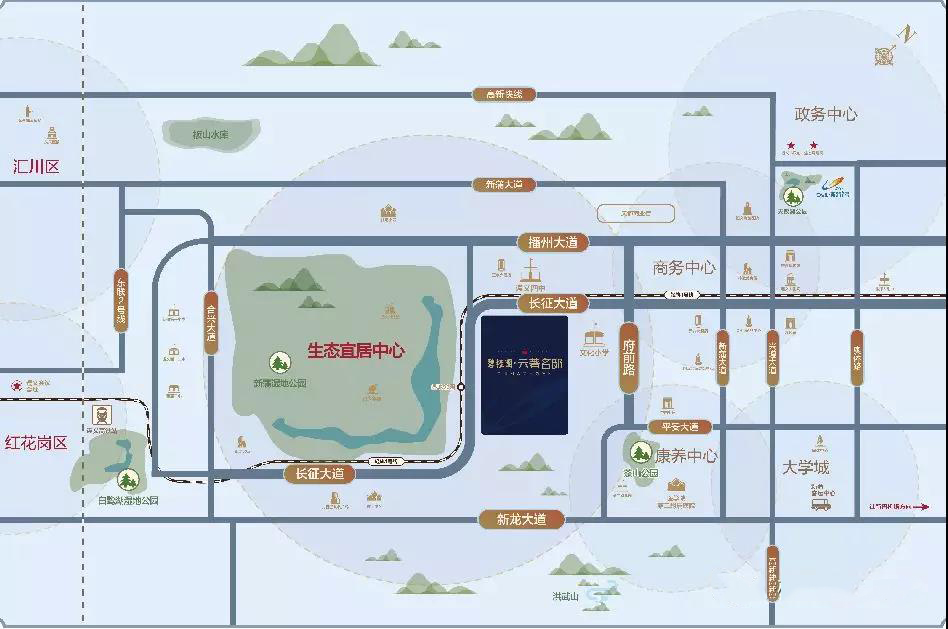 碧桂园·云著名邸:围合式布局 遇见云著 栋栋开窗见公园-中国网地产