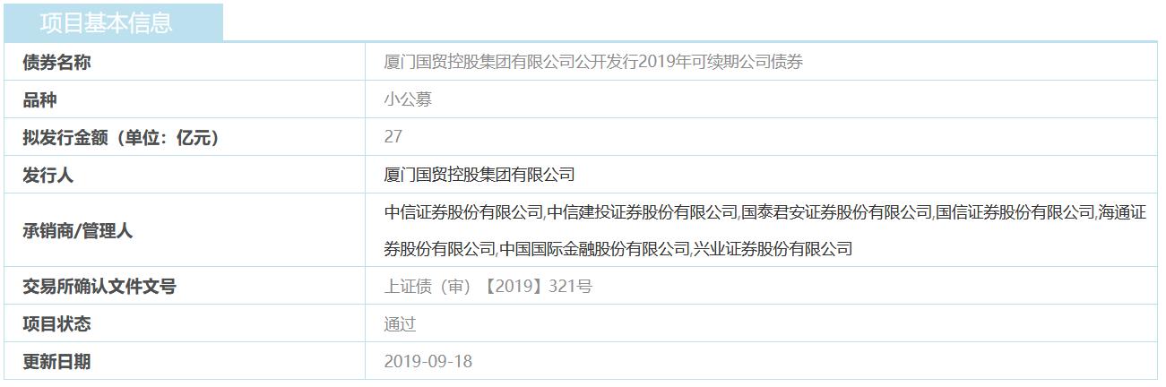 国贸控股:27亿元小公募公司债券获上交所审核通过-中国网地产