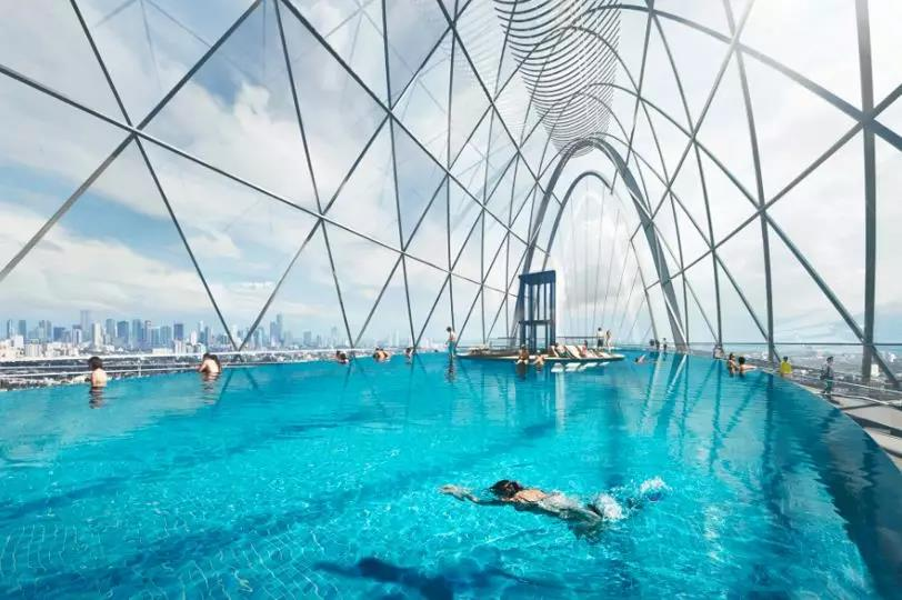 天山世界之门 | 六大未来空间塑造,进一步远见生活境界-中国网地产