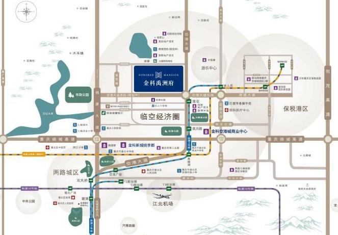 置业指南:盘点渝北区在售楼盘-中国网地产