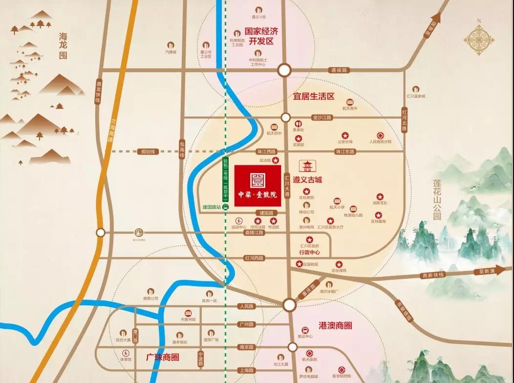 万人瞩目   遵义中梁壹号院城市展厅耀世绽放 轰动全城-中国网地产