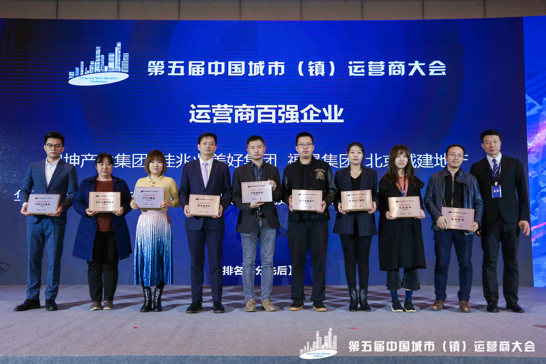 2019年第五届中国城市镇运营商大会百强名单公布-中国网地产