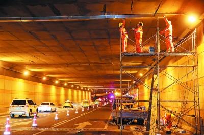 玉兰路隧道首次大修本周完成-中国网地产