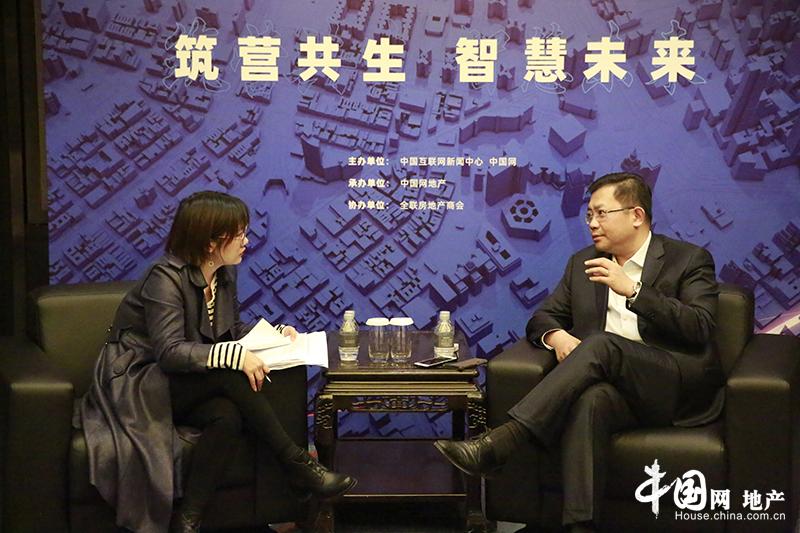 億達中國于大海:投身産業地産要耐得住寂寞 經得起誘惑-中國網地産