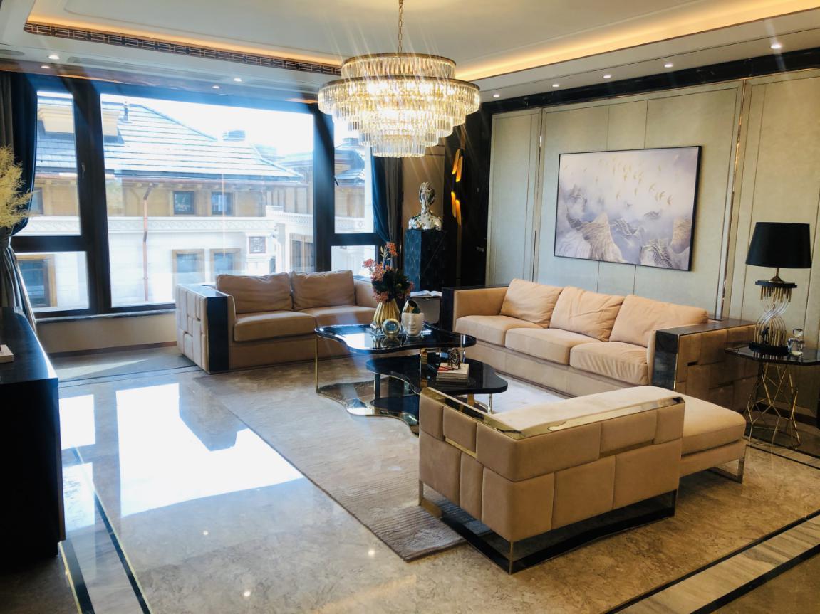首城瓏璽洋房樣板間開放 五環內再添豪宅新坐標-中國網地産