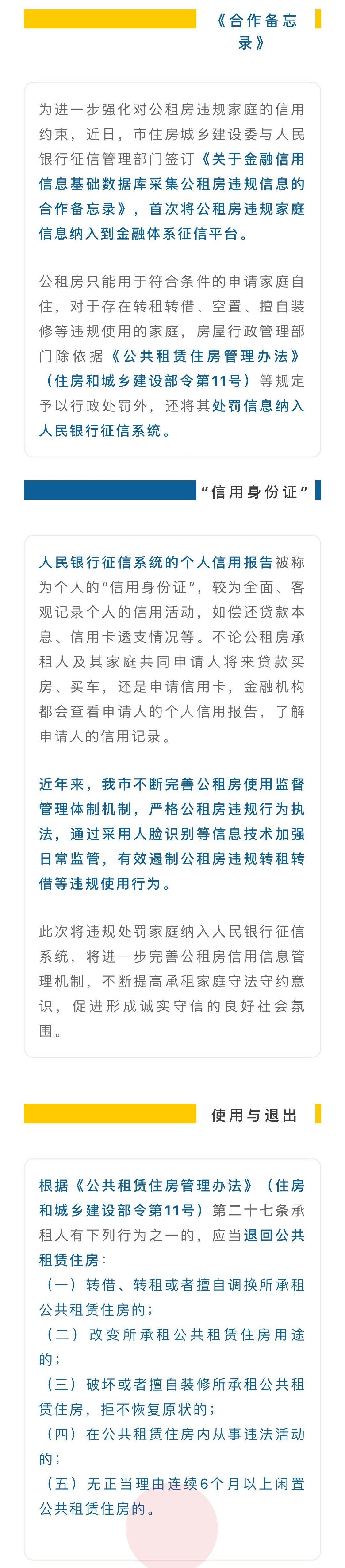 北京将公租房违规行为纳入人民银行征信系统 -中国网地产