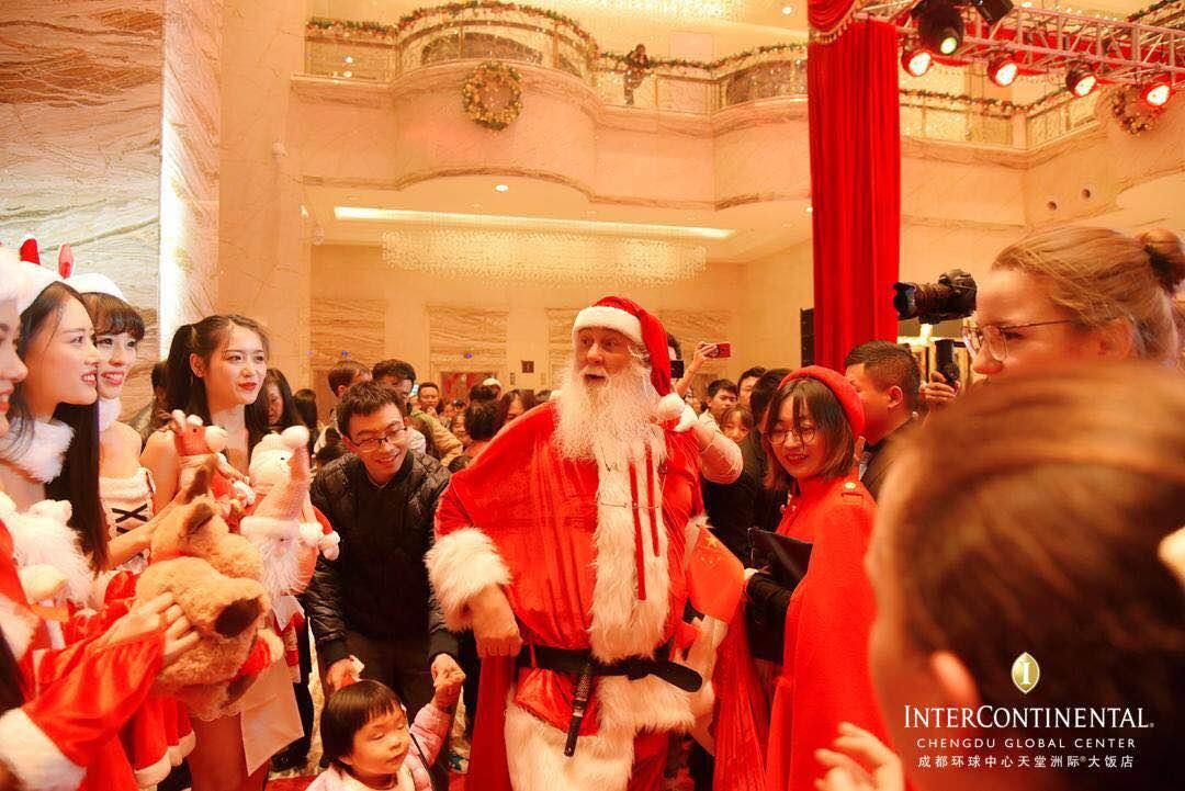 遇见真正的圣诞老人 成都环球中心天堂洲际大饭店开启圣诞嘉年华-中国网地产