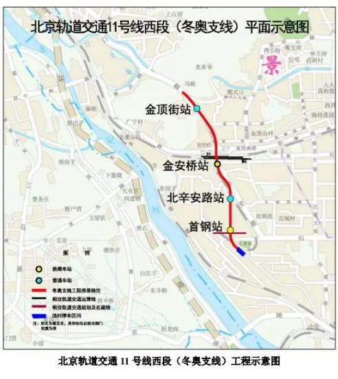 北京地铁11号线西段、新机场线北延通车时间定了-中国网地产