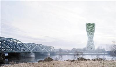 """建筑公司公布""""空气净化""""塔设计-中国网地产"""