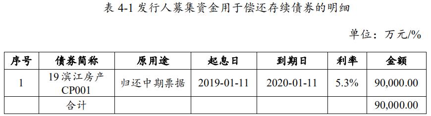 滨江集团:拟发行9亿元短期融资券 用于归还存续期债务融资工具-中国网地产