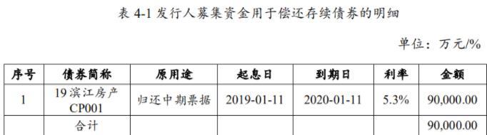 滨江房产:成功发行9亿元短期融资券 票面利率4%-中国网地产