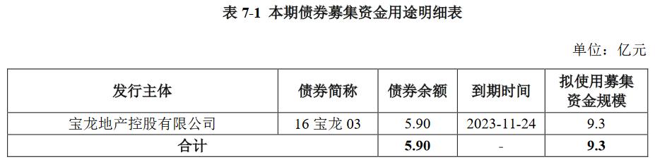 宝龙实业:成功发行9.30亿元公司债券 票面利率6.67%-中国网地产
