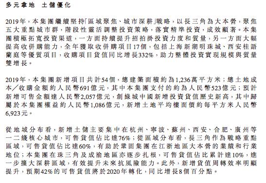 年报快读|绿城中国: 业绩增长未达预期 盈利水平难言乐观-中国网地产