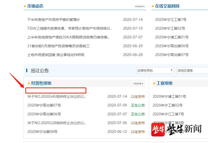 """江北核心区2幅""""双限""""升级宅地下架-中国网地产"""