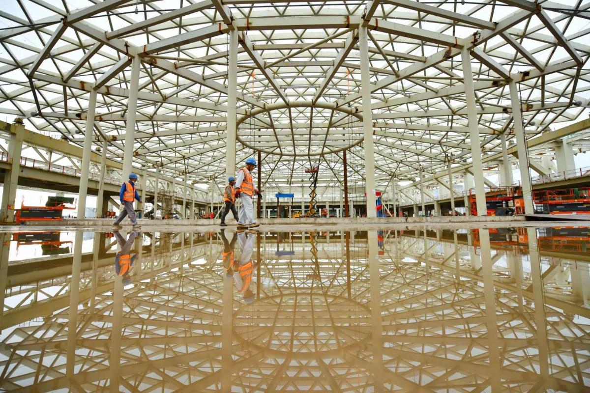 提前76天!国家会议中心二期主体结构封顶-中国网地产