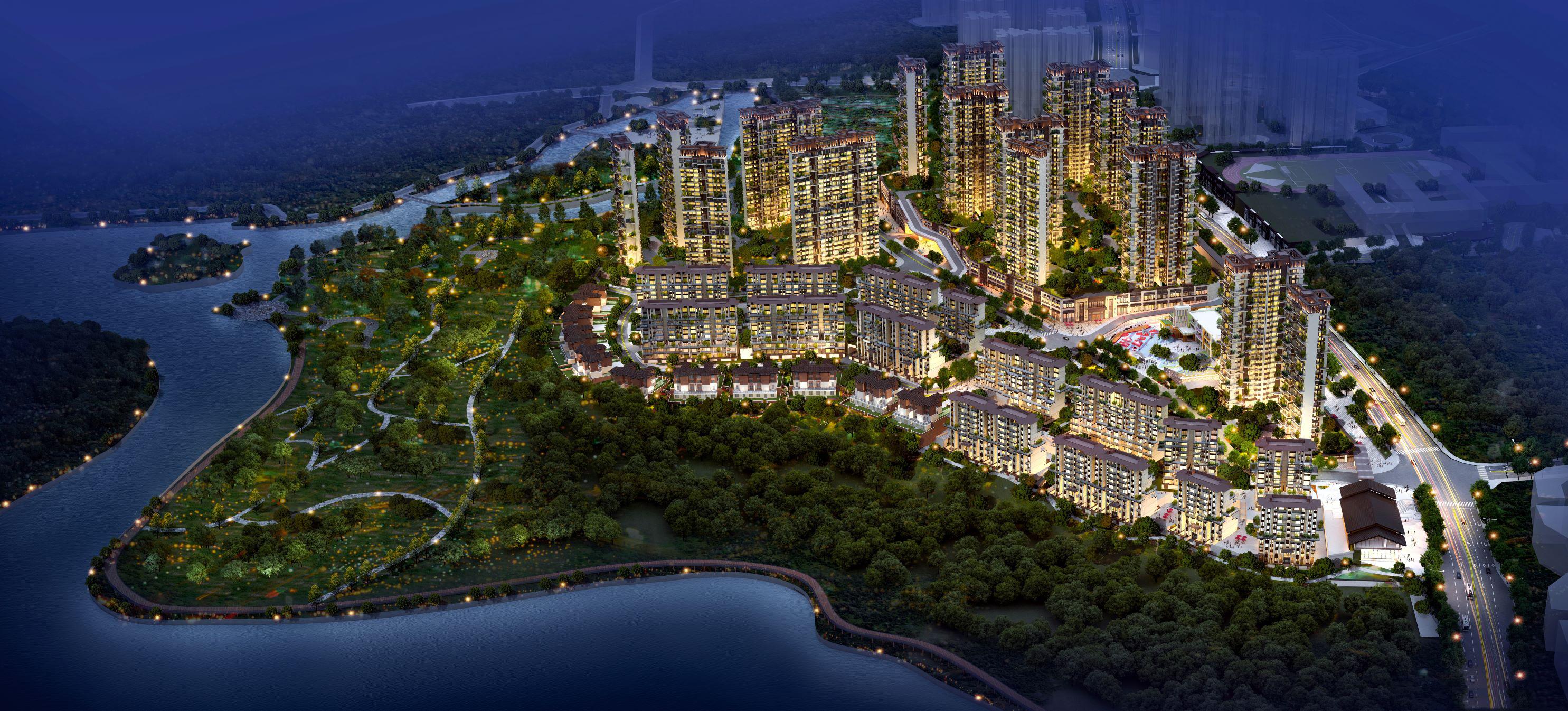 贵阳益华湖湾6万起住建面约70-170㎡山水院馆湾区住宅-中国网地产