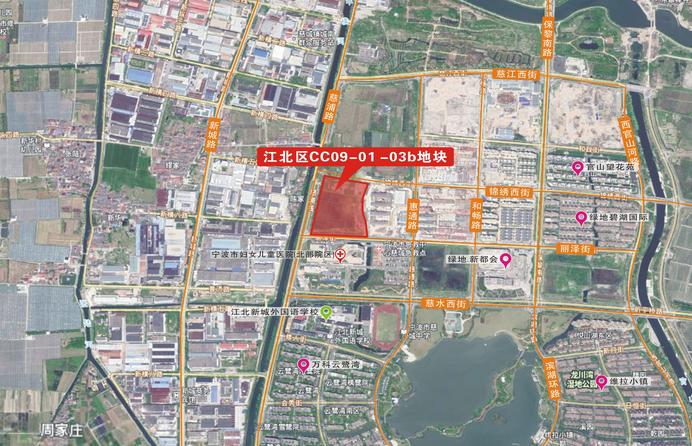龙光8.78亿元竞得宁波市江北区一宗住宅用地 溢价率34.23%-中国网地产