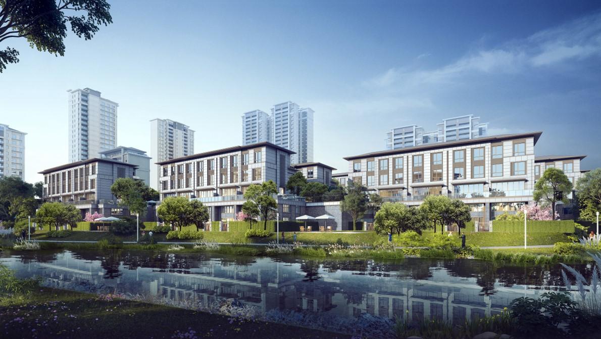 遵义阳光城溪山悦纯正洋房约12米大横厅 约14米景观阳台-中国网地产