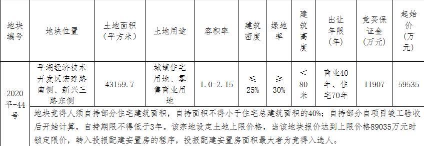 長城控股5.95億元競得嘉興平湖市1宗商住用地-中國網地産