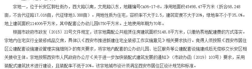 融创2.2亿元竞得西安1宗住宅用地-中国网地产