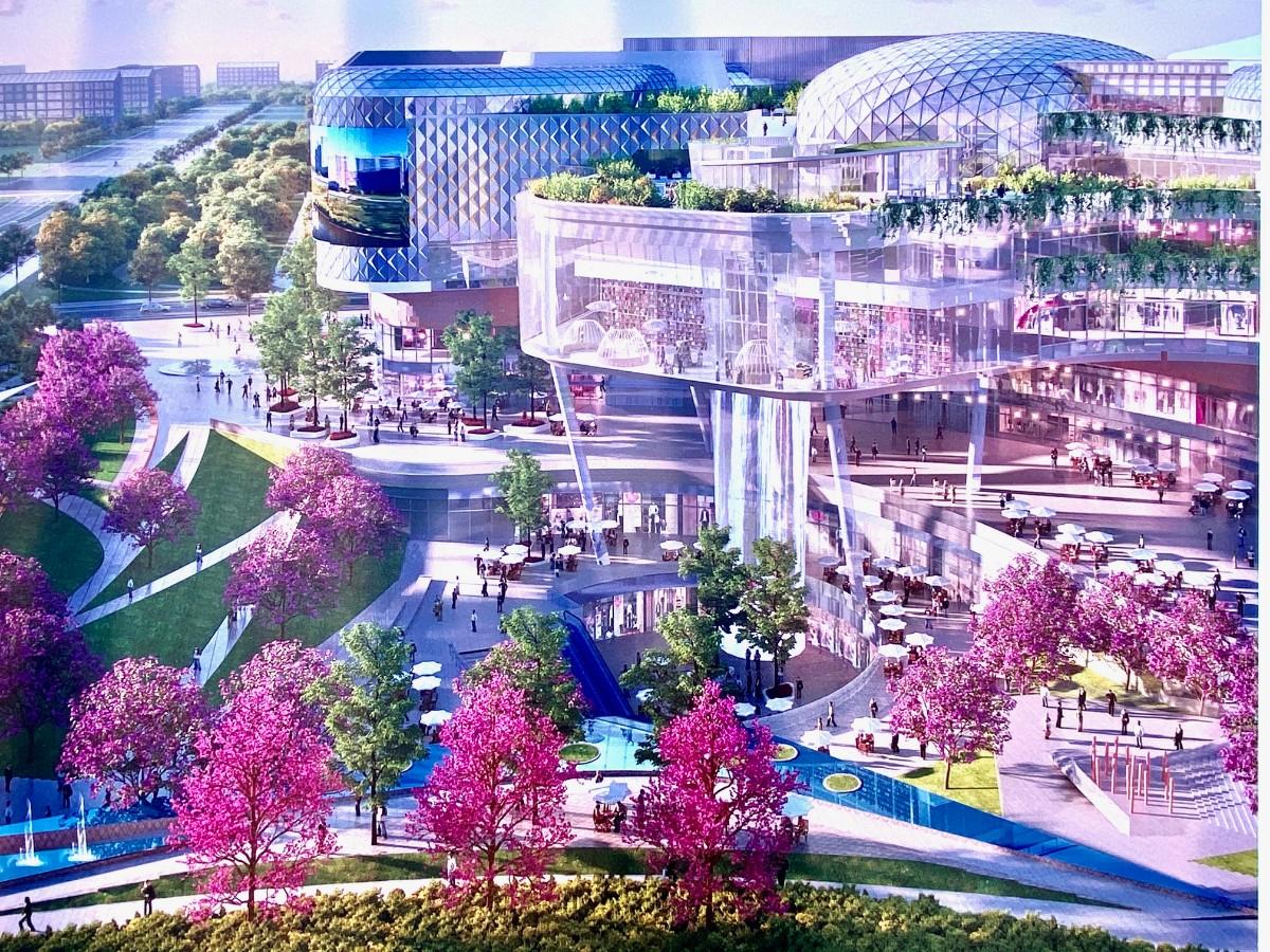 北京城市副中心行政办公区大型购物中心今开建-中国网地产