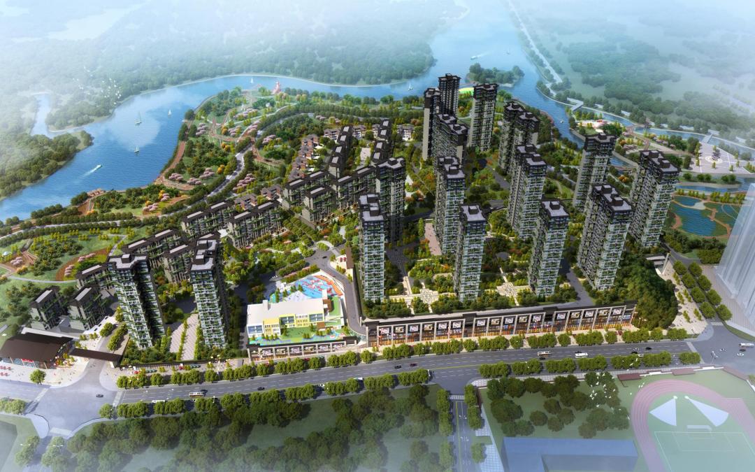 贵阳益华湖湾国风公园为清镇匠造高端园林-中国网地产