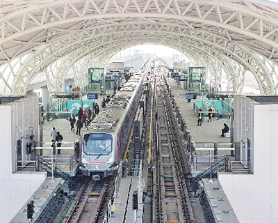 1号线南段年底空载试运、新机场转场运营 青岛大交通锚定重点项目-中国网地产