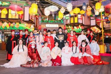 """各地爱琴海元宵节花式玩新意 实力""""圈粉""""年轻人-中国网地产"""