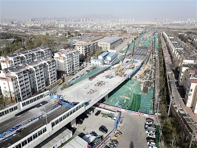 太原路东延段6月份通车 长沙路环湾路立交桥将通车-中国网地产
