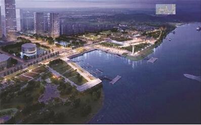 燕子矶新城规划图-南京市栖霞区三个新城定位各不同图片